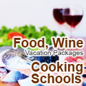 food, wine cooking schools